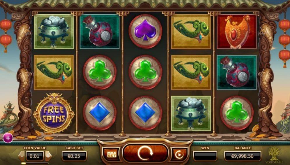 Legend of the Golden Monkey Casino Spiel