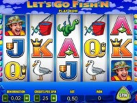 Let's Go Fish'n Spielautomat