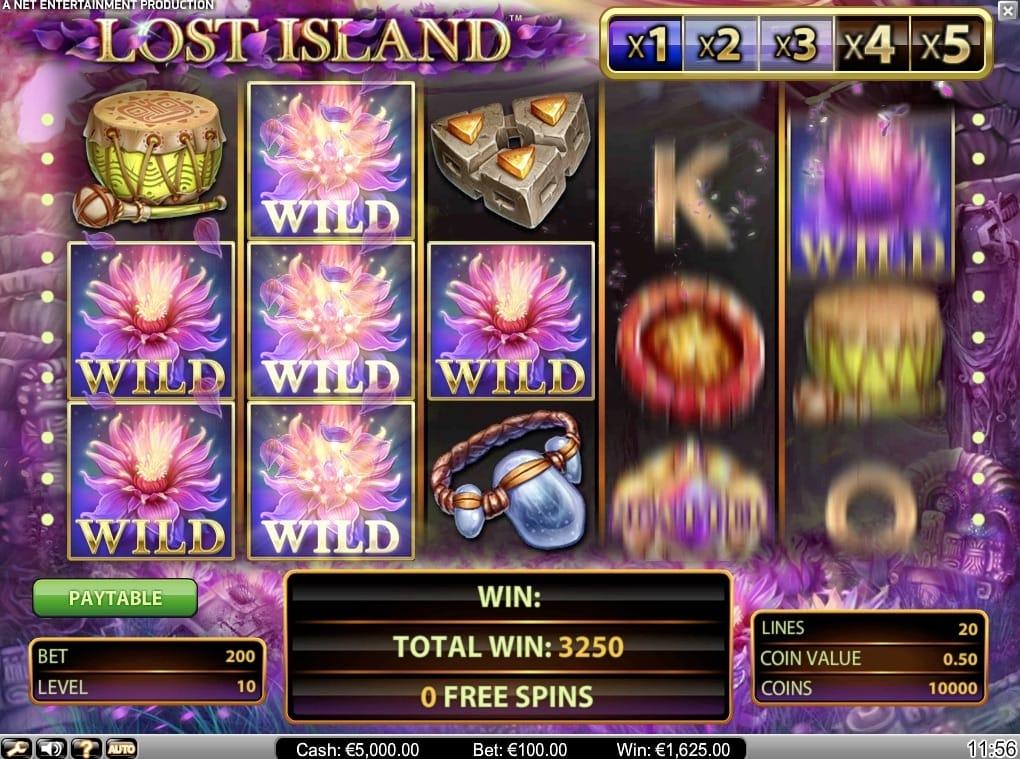 Lost Island Video Slot