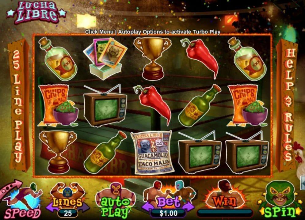 Lucha Libre Casino Spiel