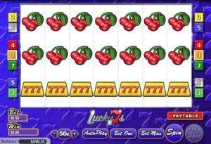 Lucky 7s Automatenspiel ohne Anmeldung