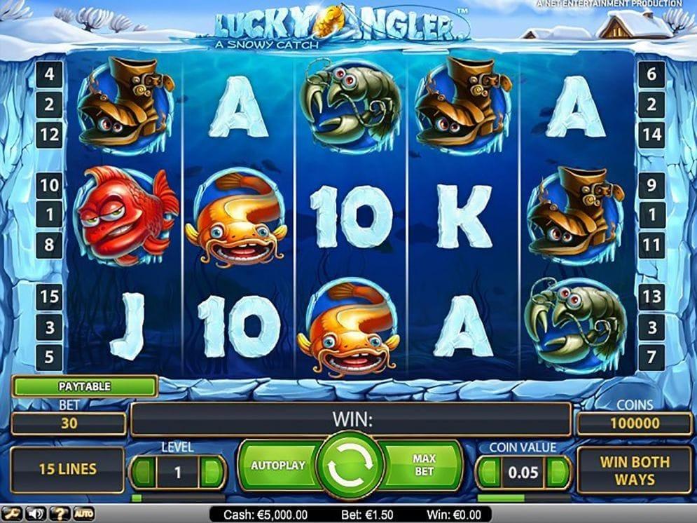 Lucky Angler online Casinospiel