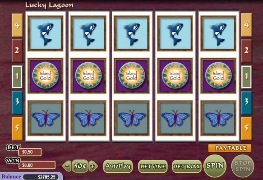 Lucky Lagoon online Geldspielautomat