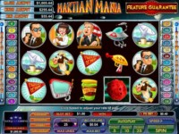 Martian Mania Spielautomat
