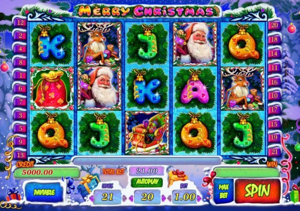 Merry Christmas online Spielautomat