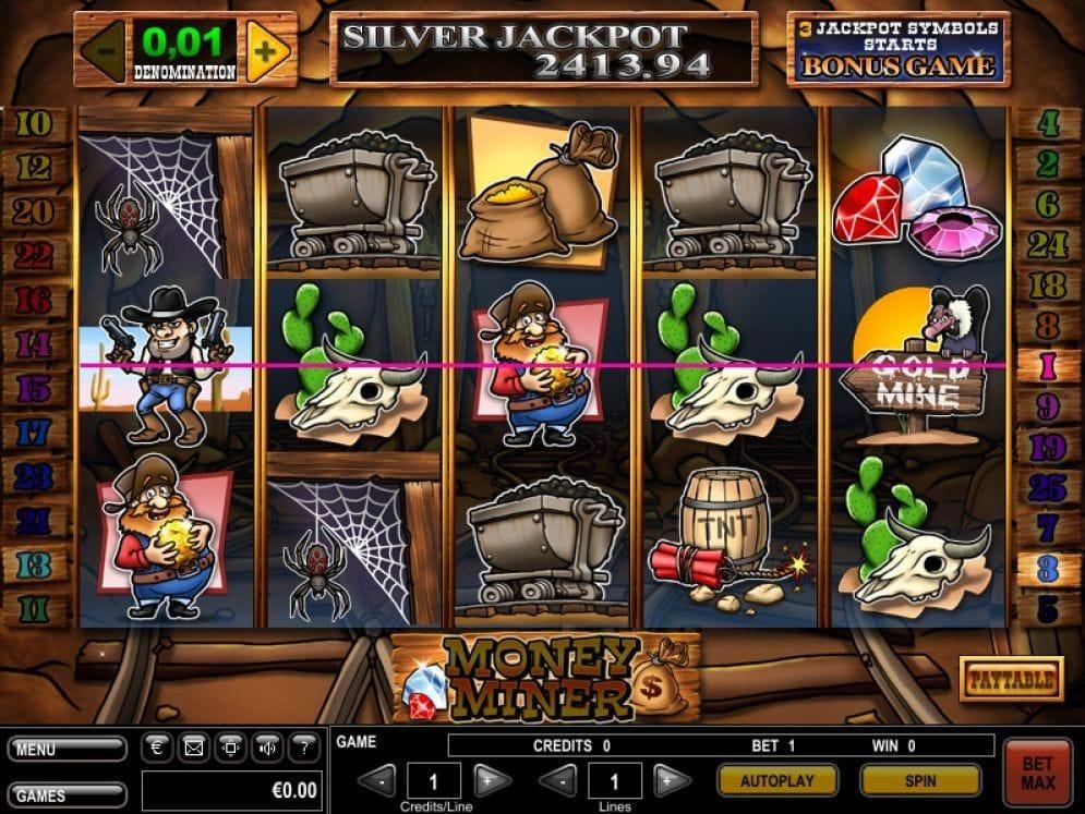 Money Miner online Slotmaschine