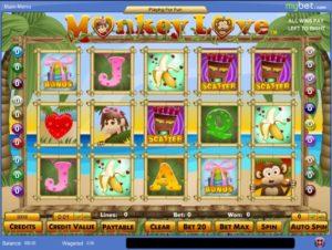 Monkey Love Casino Spiel online spielen