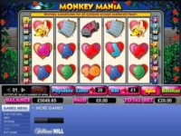 Monkey Mania Spielautomat