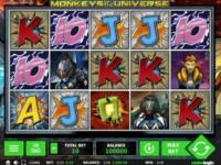 Monkeys of the Universe Spielautomat