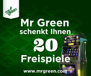 mr green online casino bonus
