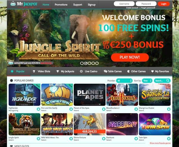 MyJackpot Casino im Test