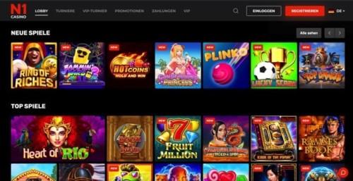 N1 Casino mit Startguthaben