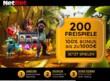 100% Bonus bis zu 1000€ für erste Einzahlung + 200 Freispiele für nur 10€