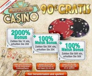 Nostalgia Casino im Test