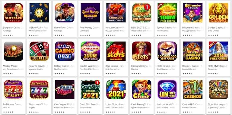 beste Casino Apps für Handy Spieler
