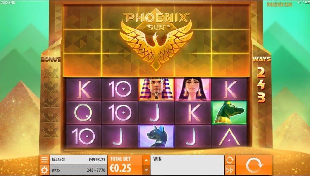 Phoenix Sun Casinospiel