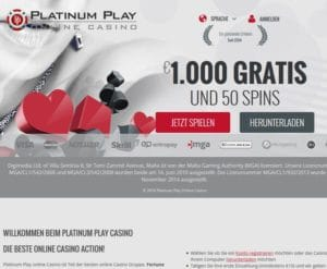 Platinum Play im Test