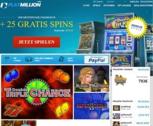 Play Million Casino im Test