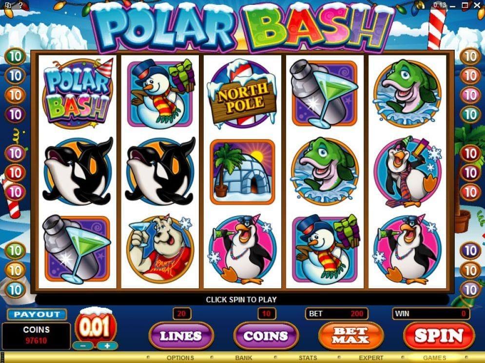 Polar Bash online Casinospiel