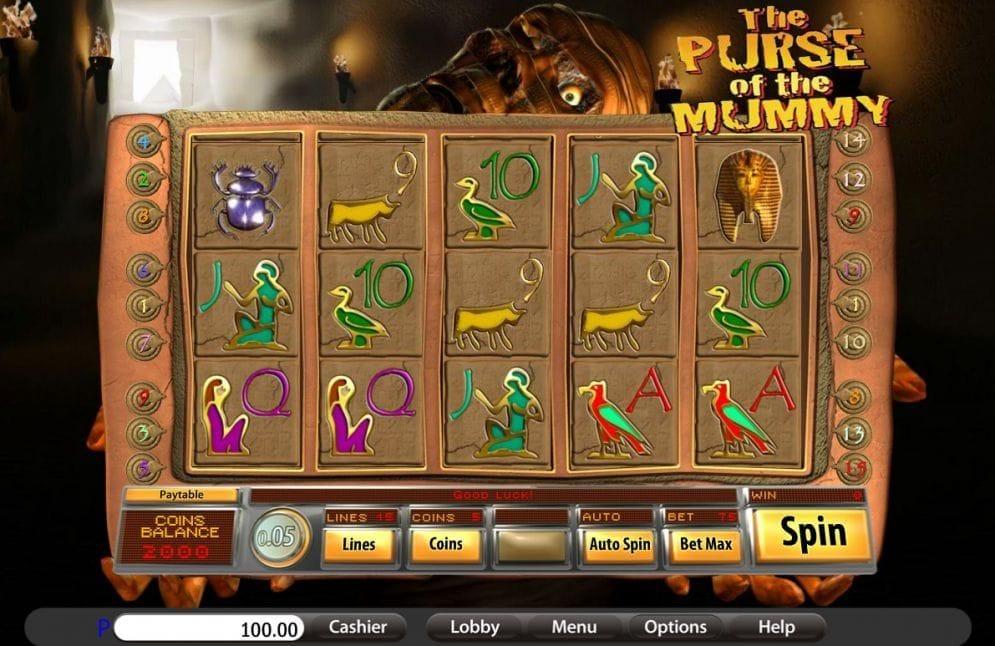 Purse Of The Mummy Spielautomat