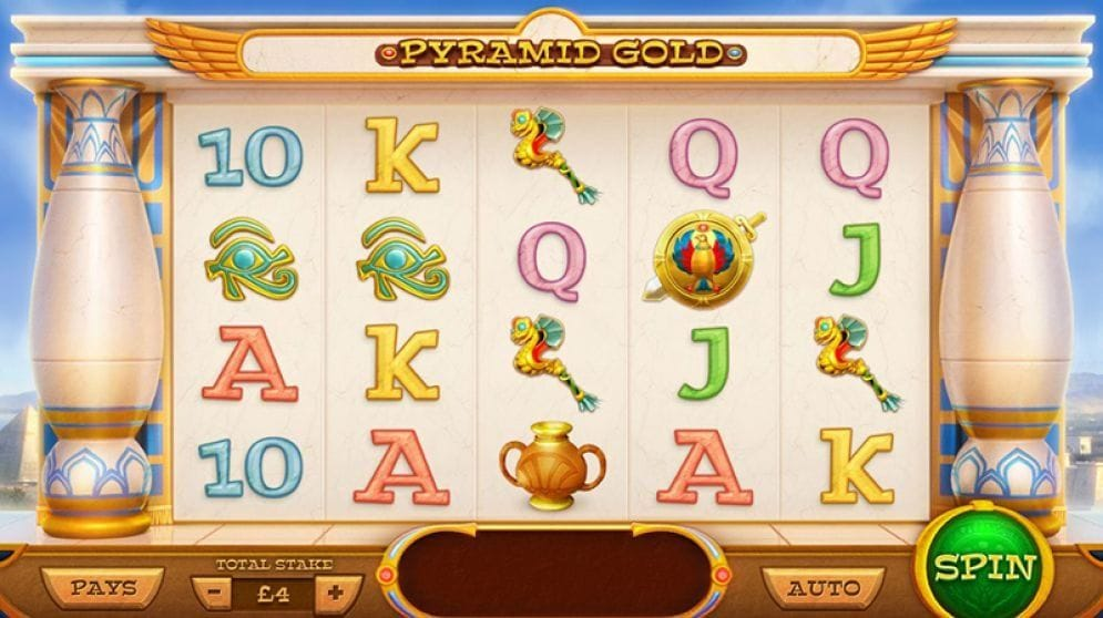 Pyramid Gold online Geldspielautomat