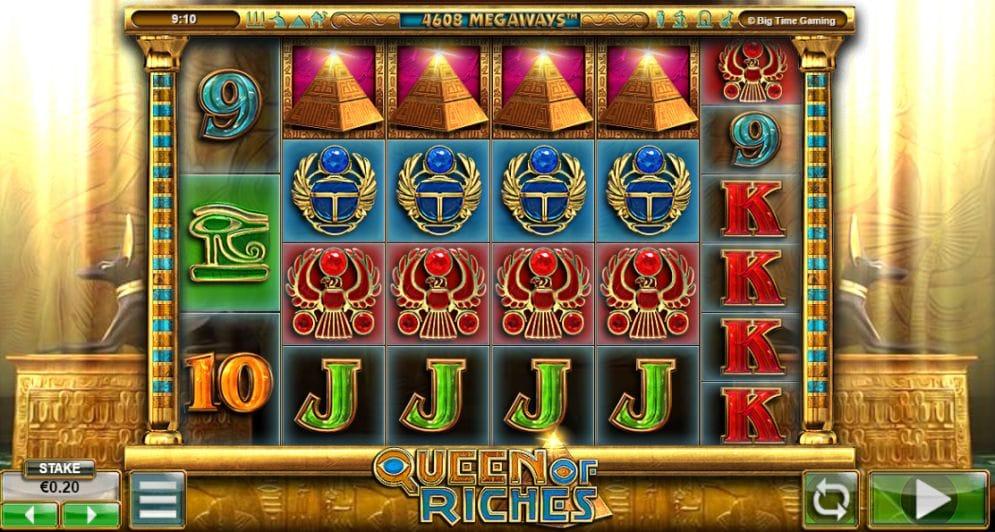Queen of Riches Casinospiel