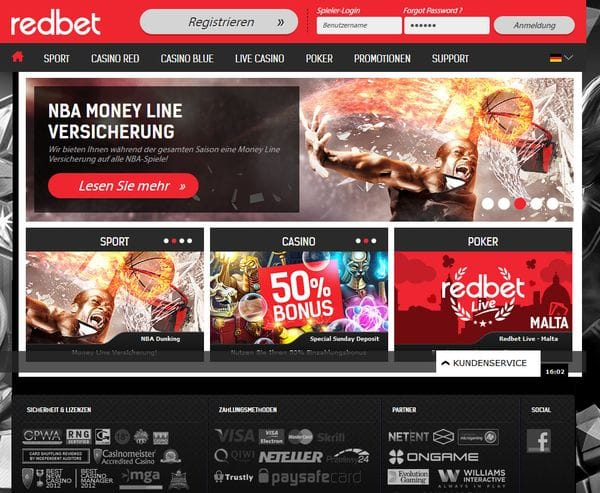 redbet Casino Bericht