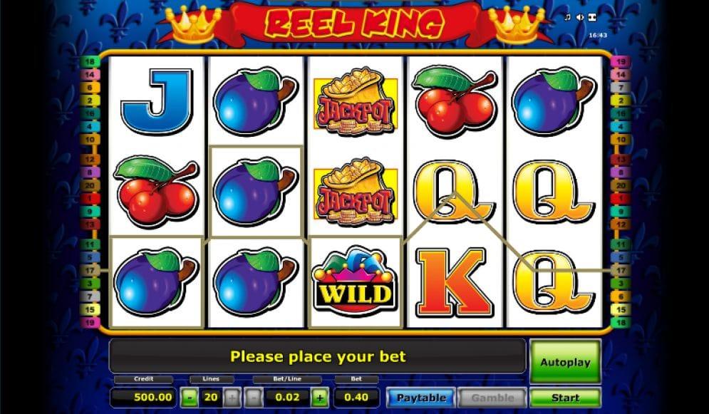 Reel King online Casino Spiel