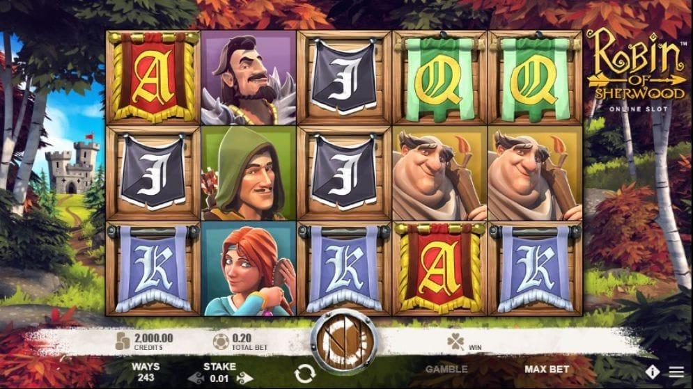 Robin of Sherwood online Videoslot