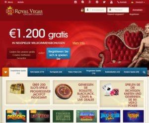 Royal Vegas Casino im Test