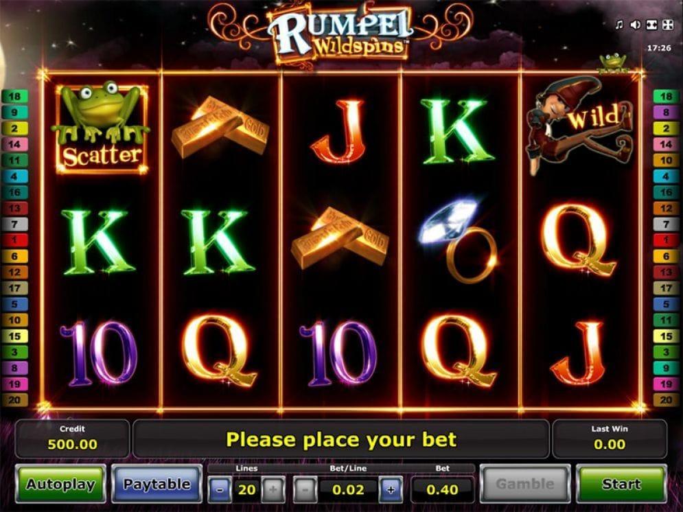 Rumpel WildSpins Casinospiel