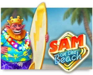 Sam on the Beach Video Slot online spielen