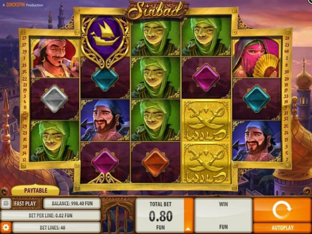 Sinbad Casinospiel