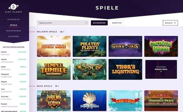 Freispiele bei Slot Planet - Spieler Erfahrungen
