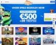 500€ Einzahlungsbonus + 50 FREE SPINS!