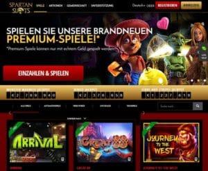Spartan Slots Casino im Test