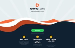 Speedy Casino – schnell spielen ohne Konto