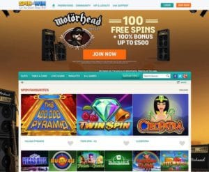 Spin and Win Casino im Test