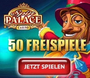 150 Freispiele kostenlos in Spin Palace