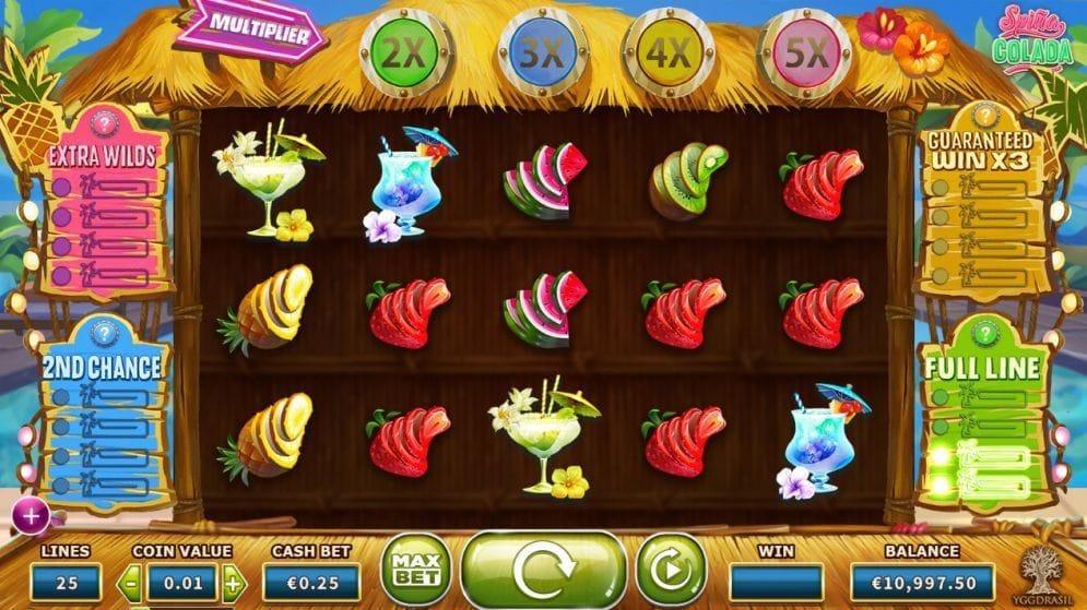 Spina Colada online Geldspielautomat