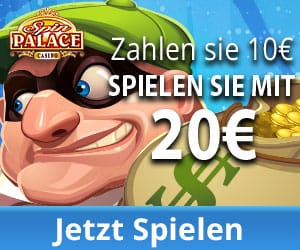1000€ kostenlos in Spin Palace