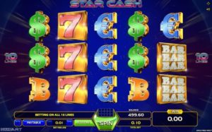 Star Cash Automatenspiel kostenlos