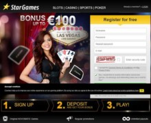 50% Einzahlungs Bonus, bis zu €100 gratis Bonus
