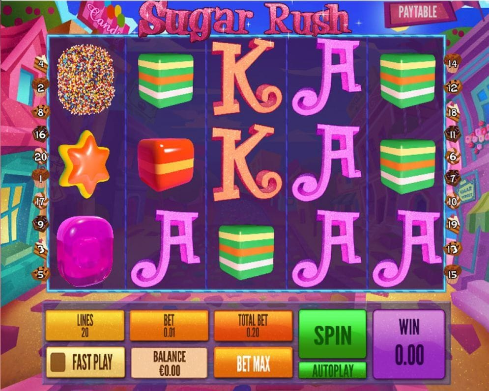 Sugar Rush Video Slot