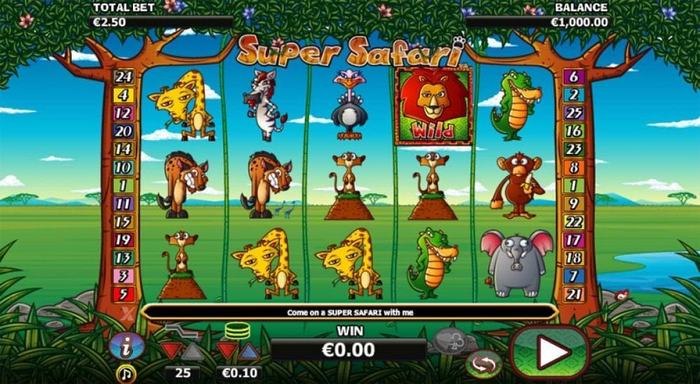 Super Safari Geldspielautomat