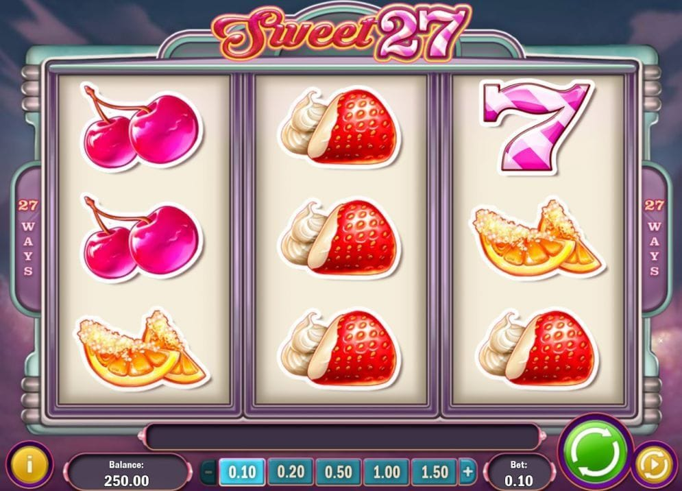 Sweet 27 online Video Slot