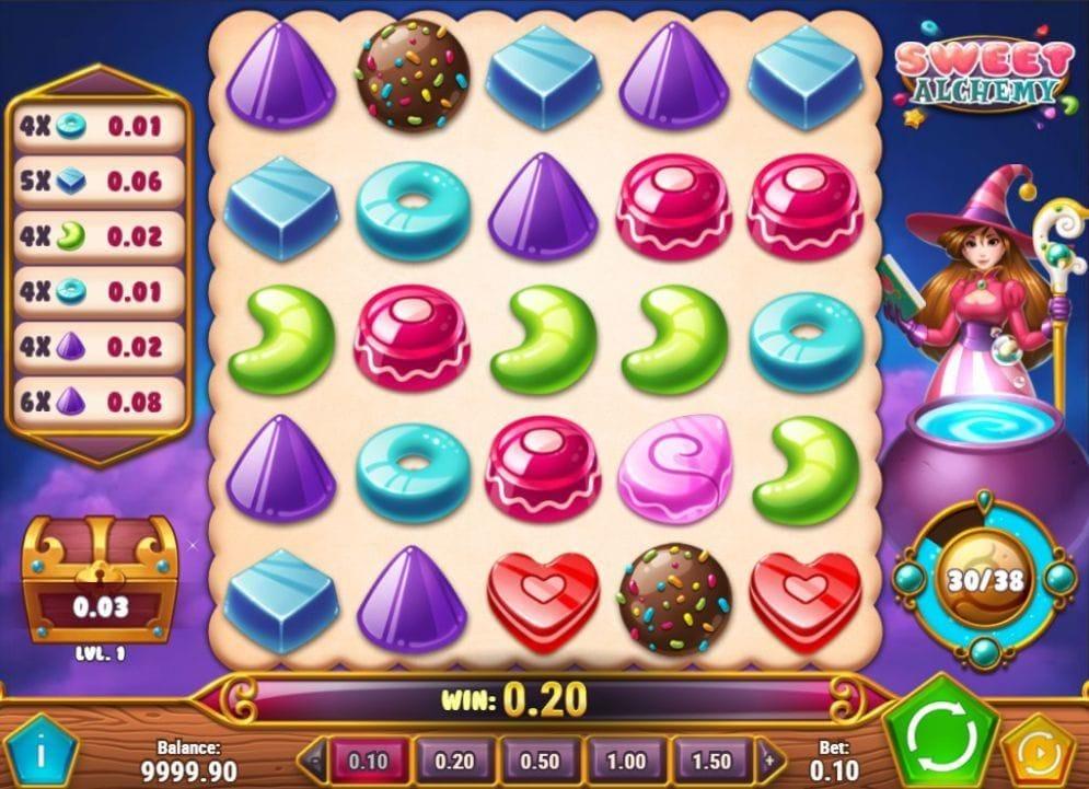 Sweet Alchemy online Automatenspiel