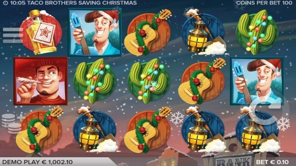Taco Brothers Saving Christmas Video Slot