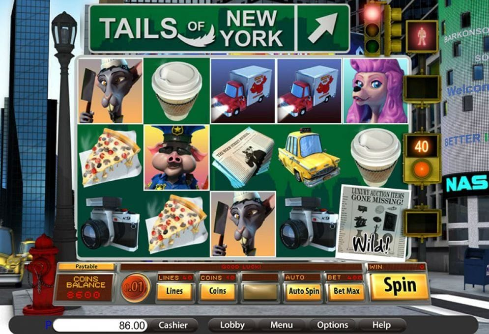 Tails of New York online Spielautomat