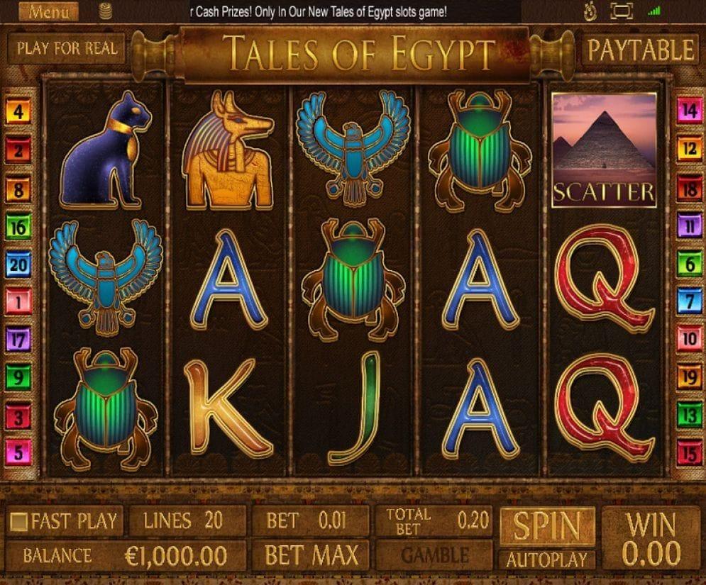 Tales Of Egypt Geldspielautomat